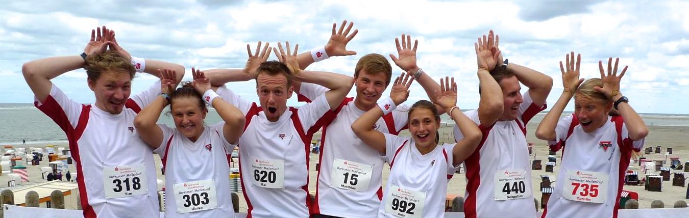 Borkumer Meilenlauf 2012