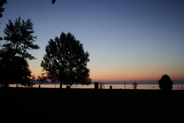 Sonnenuntergang am Balaton