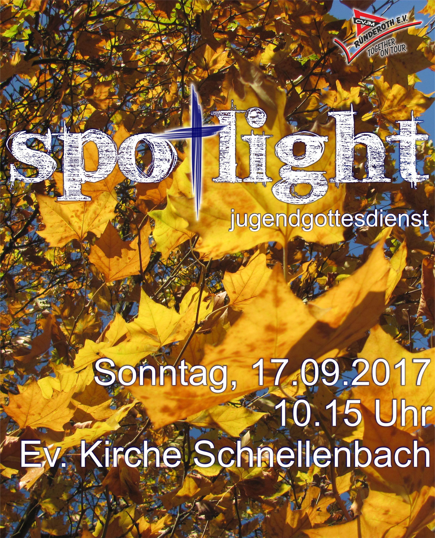Spotlight Jugendgottesdienst 17.09.2017