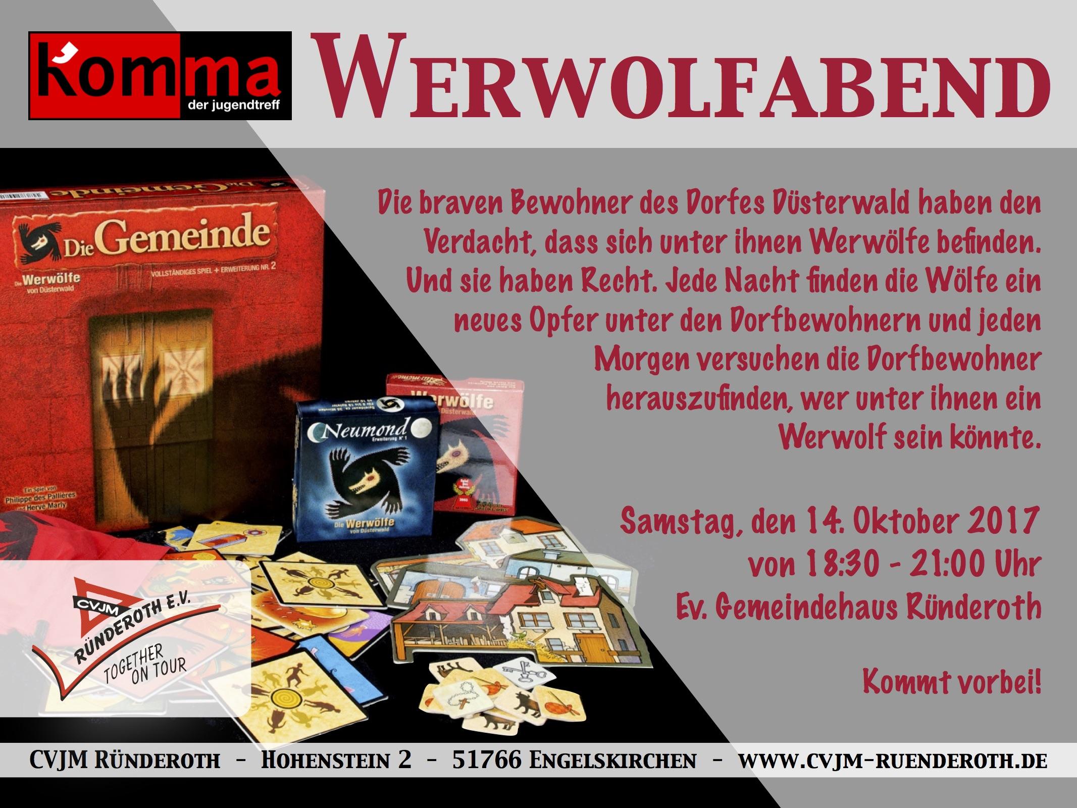 Kom'ma – Werwolfabend