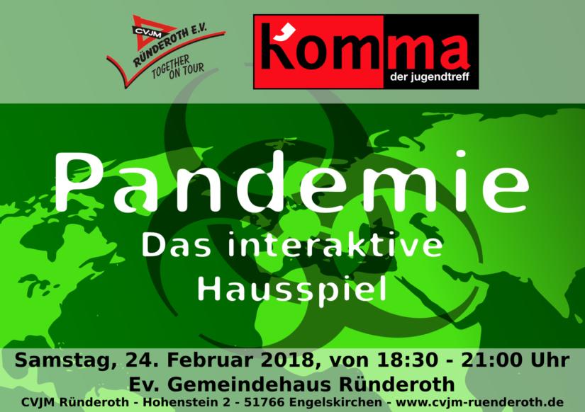 "Kom'ma – Hausspiel ""Pandemie"""