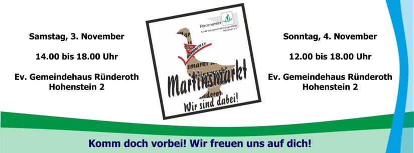Martinsmarkt 2018: DANKE!
